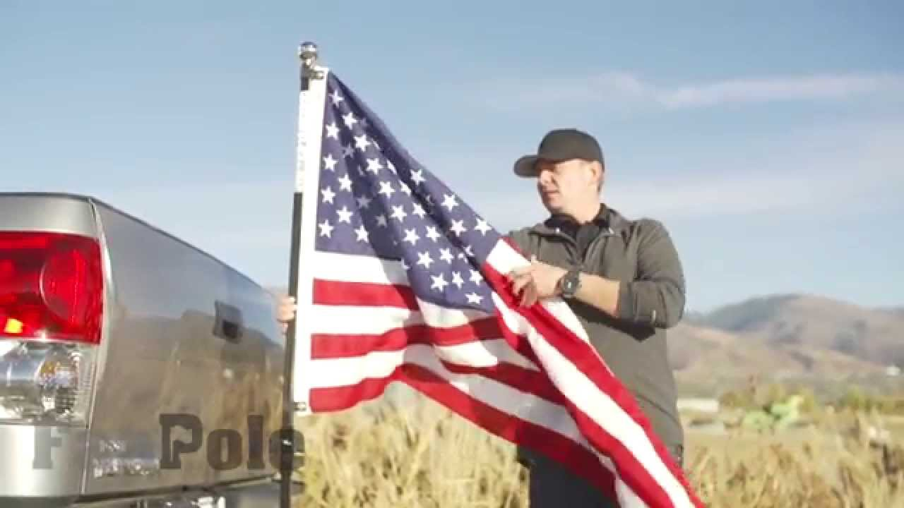 How To Put A Flag Pole On Your Truck The Best Way
