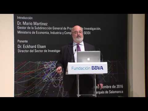 Lecture by Eckhard Elsen. Director of the Research and Computing Sector, CERN