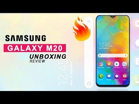 GALAXY M20 | SAMSUNG THEME | OREO & NAUGAT - Handphone Video Reviews