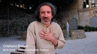 2019 Conero International Music Festival Interview-Cristiano Burato