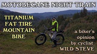 Motobecane Night Train Fat Tire Mountain Bike Overview