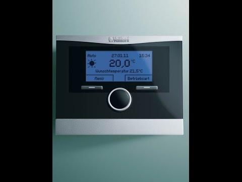 C mo instalar el termostato wifi conectavaillant en cal for Clases de termostatos