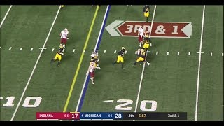 2018: Michigan 31 Indiana 20
