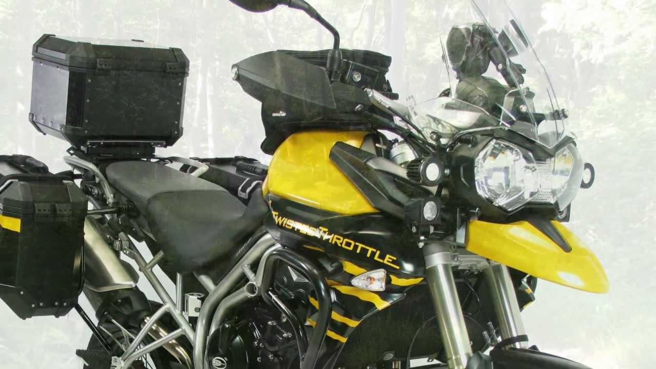 Triumph Tiger 800 >> Twisted Throttle Triumph Tiger 800 Demo Bike - YouTube