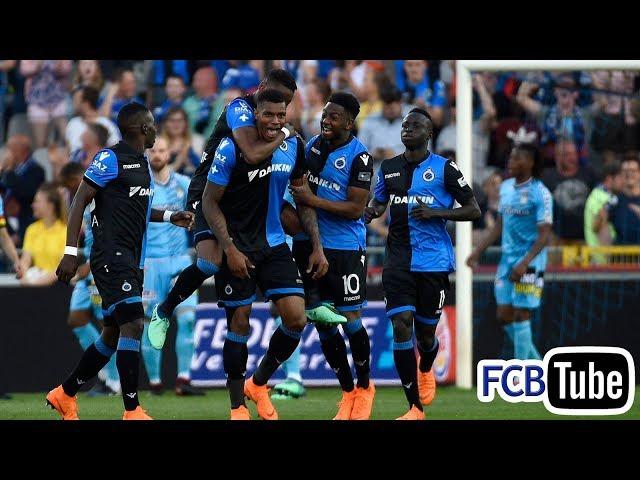 2017-2018 - Jupiler Pro League - PlayOff 1 - 04. Club Brugge - SC Charleroi 6-0