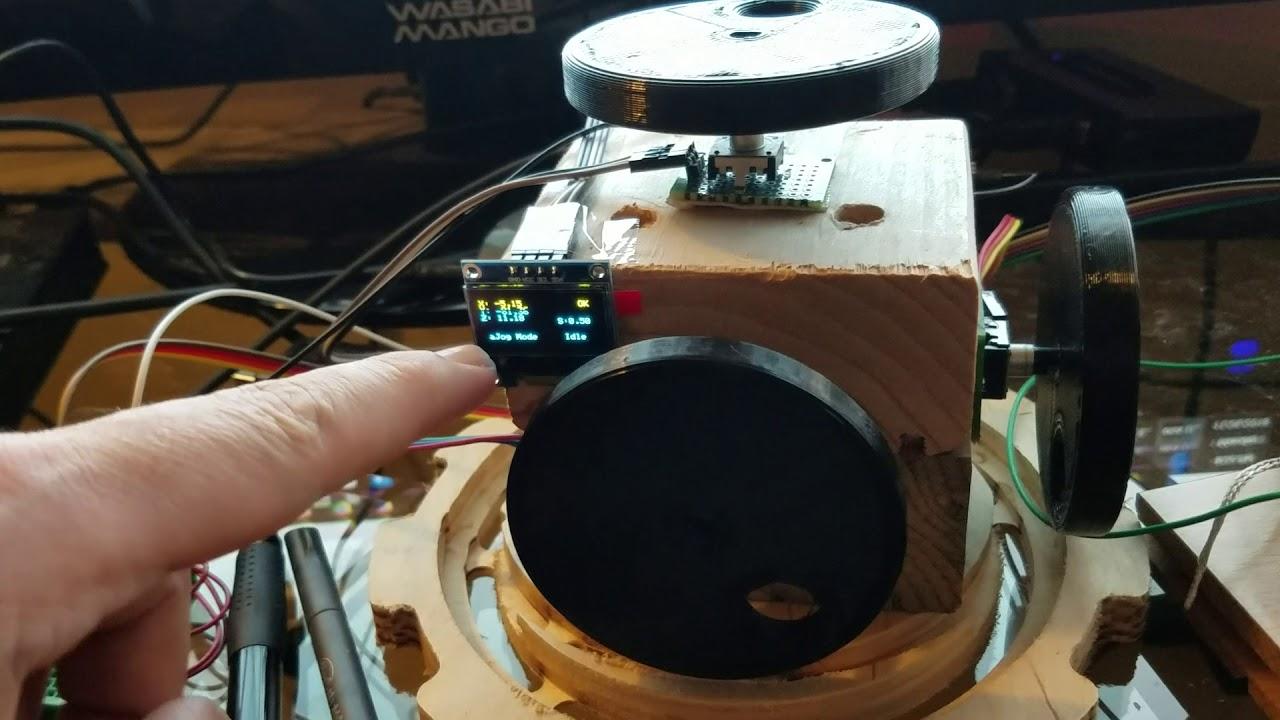 Grbl mitm pendant prototype