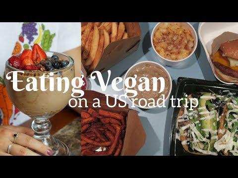 EATING VEGAN ON A US ROADTRIP