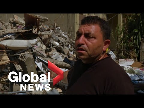 """I'm destroyed"": Syrian father loses daughters and wife in Beirut explosion"