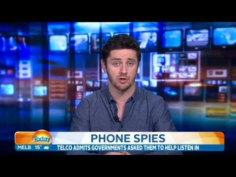 Today Show - Government Phone Spying