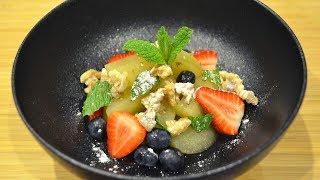 Poached Apple Dessert Recipe