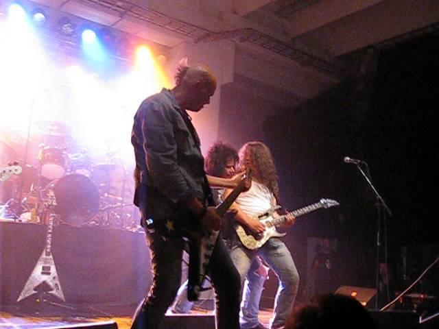 Chris Laney & Zinny Zan - Don't Care 'Bout Nothin' - Stockholm Rock Out 10.9.2010