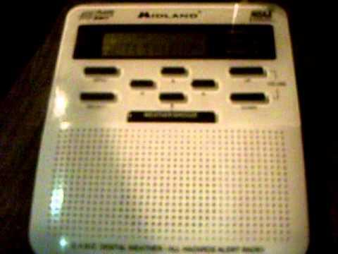 NOAA Weather Radio WXJ73 (Davenport, IA) Broadcast Cycle - 11/27/10