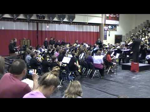 Conner Middle School Symphonic Band-Beneath the Sacred Light (2013 Spring Concert)