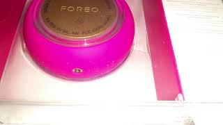Foreo Ufo unboxing only. No sound