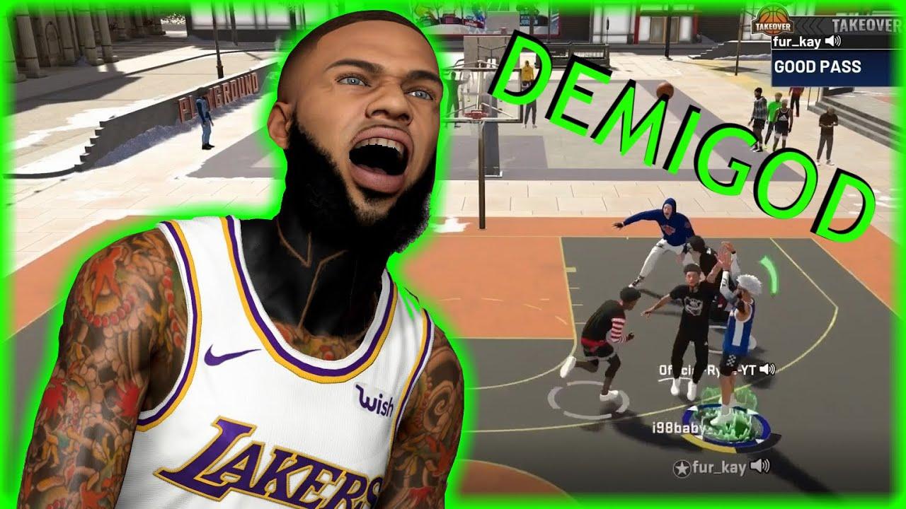 DROPPING OFF AN NBA PLAYER! NBA 2K20 Park Gameplay Best 3