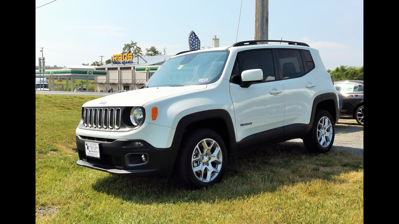 2015 jeep renegade latitude 4x4 start up tour and review youtube. Black Bedroom Furniture Sets. Home Design Ideas