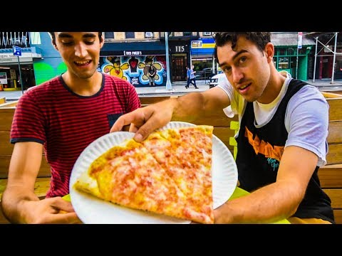 THE DOLLAR PIZZA CHALLENGE