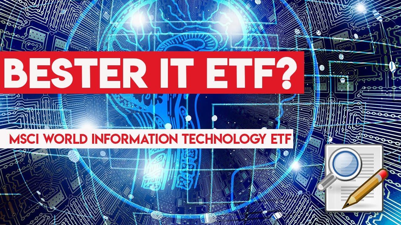 Bester IT ETF für den Sparplan   Xtrackers MSCI World Information  Technology ETF