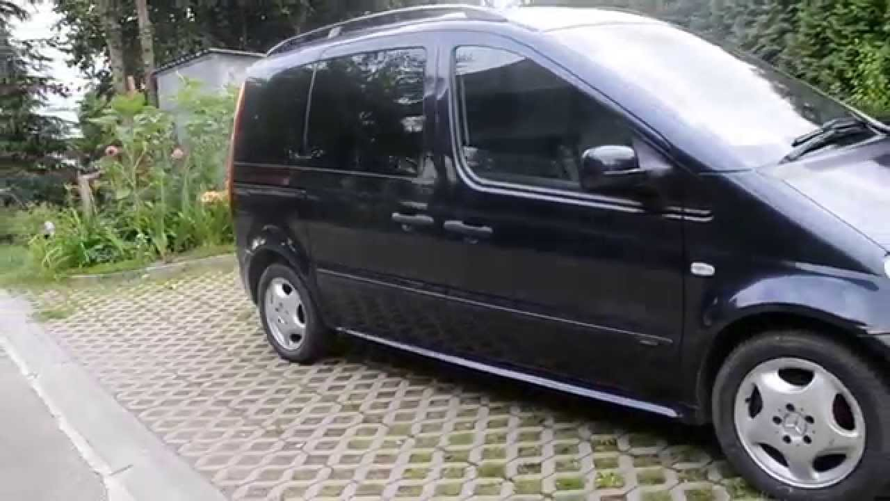 mercedes benz vaneo 2002r youtube. Black Bedroom Furniture Sets. Home Design Ideas