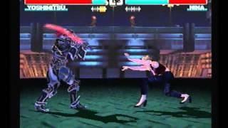 Tekken 3 - Yoshimtsu with commentary