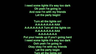 T-Pain feat. Ne-Yo - Turn all the lights on ( LYRICS )