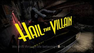 Evil Has A Name - Hail the Villain [Lyrics][HD]