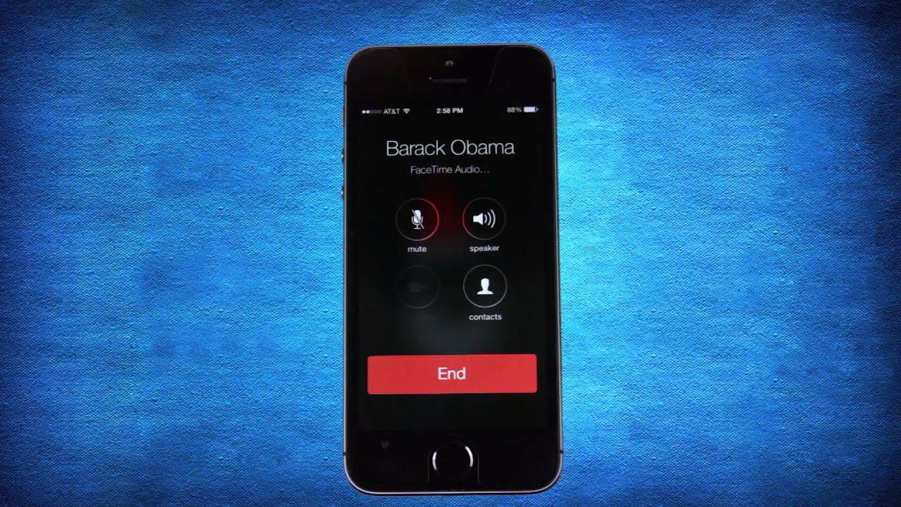 FaceTime Calling in iOS 7