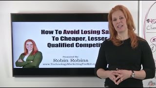 How IT Services Companies Can Avoid Losing Sales To Cheaper Competitors