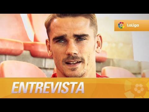 Entrevista a Antoine Griezmann, el goleador del Atlético de Madrid