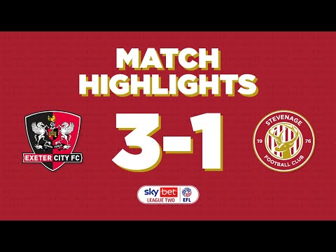 Exeter City Stevenage Goals And Highlights