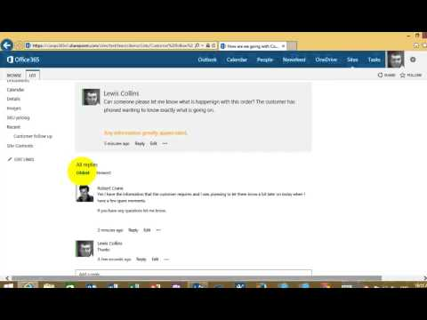 SharePoint Online Discussion Board Basics - YouTube