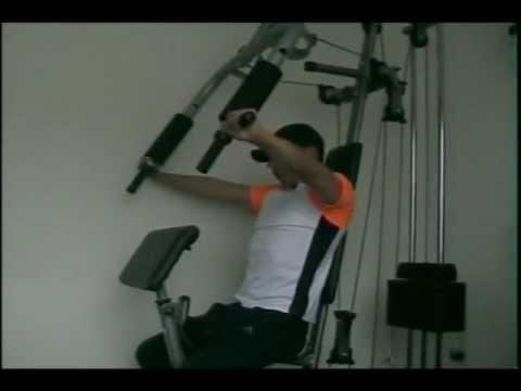 Ejercicios para multifuerza youtube for Maquinas de ejercicios