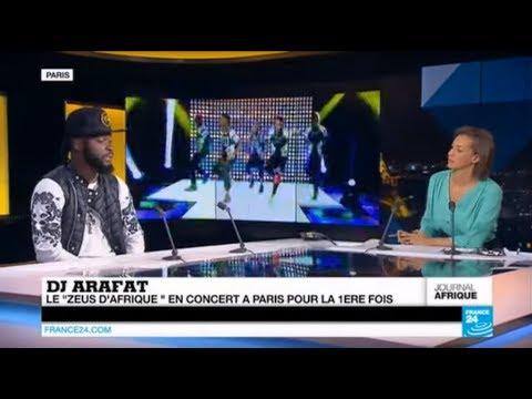 DJ Arafat en interview sur FRANCE 24 en 2014 !