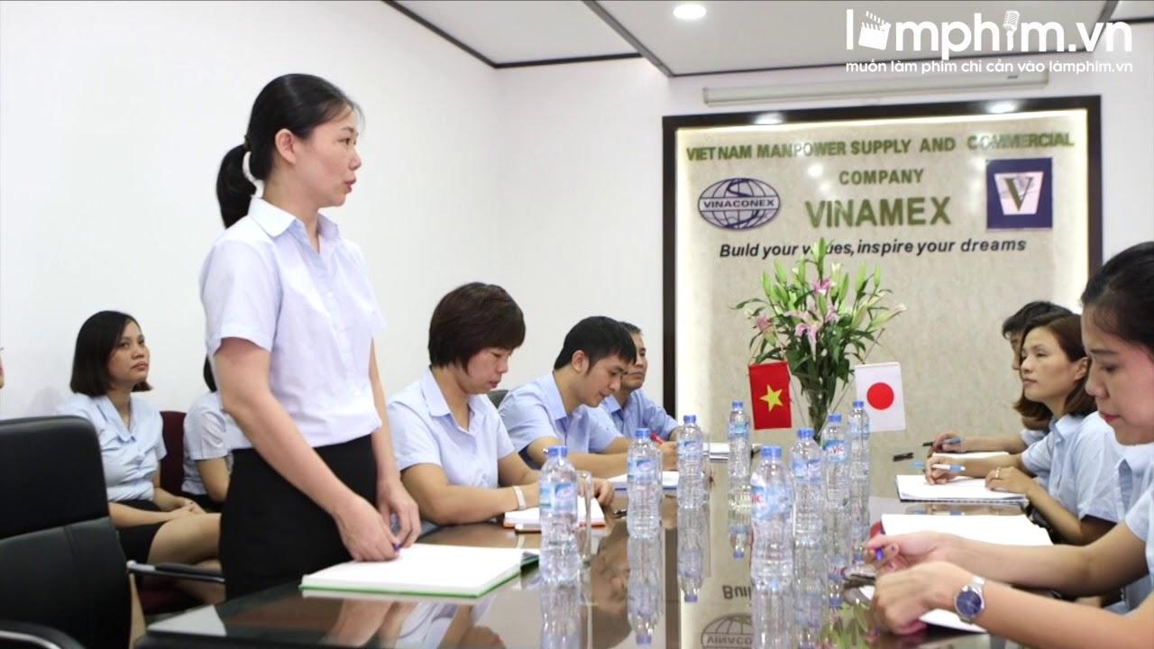 Làm phim giới thiệu doanh nghiệp, công ty Vinamex   Tập đoàn VinaConec
