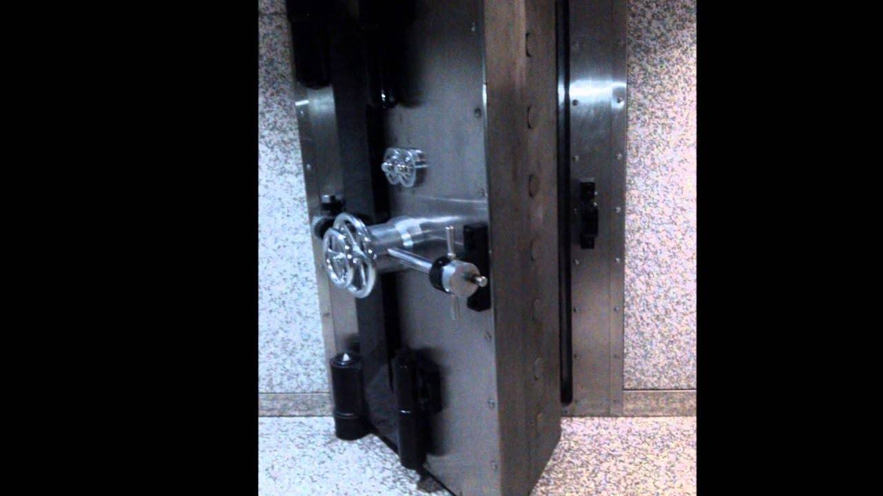 Bank Vault Door & Bank Vault Door - YouTube