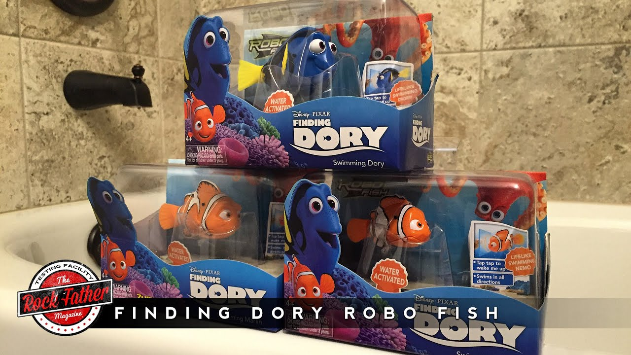 Toy Review Disneypixars Finding Dory Robo Fish