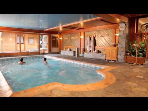 Chalet Mouniers Hotel Les 2 Alpes Spa Youtube