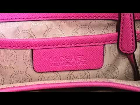 8f9ec31d0f8c How to Spot a fake Michael Kors Handbag - YouTube