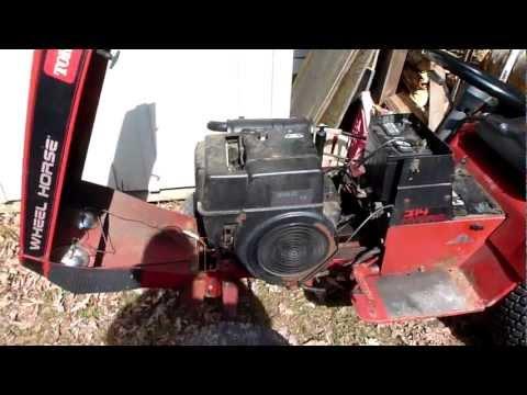 Wheel Horse 314 Hydro You