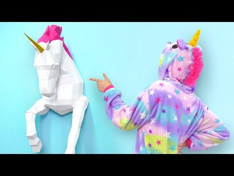 Making An Amazing Papercraft Unicorn
