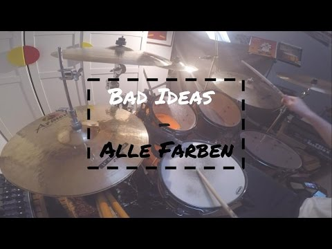 bad ideas alle farben drum cover youtube. Black Bedroom Furniture Sets. Home Design Ideas
