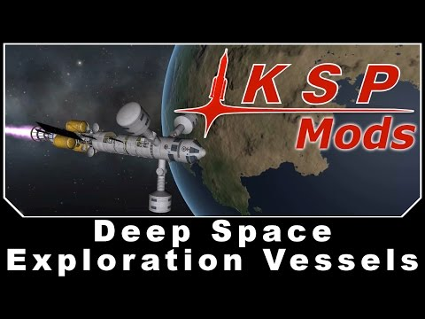 KSP Mods - Deep Space Exploration Vessels