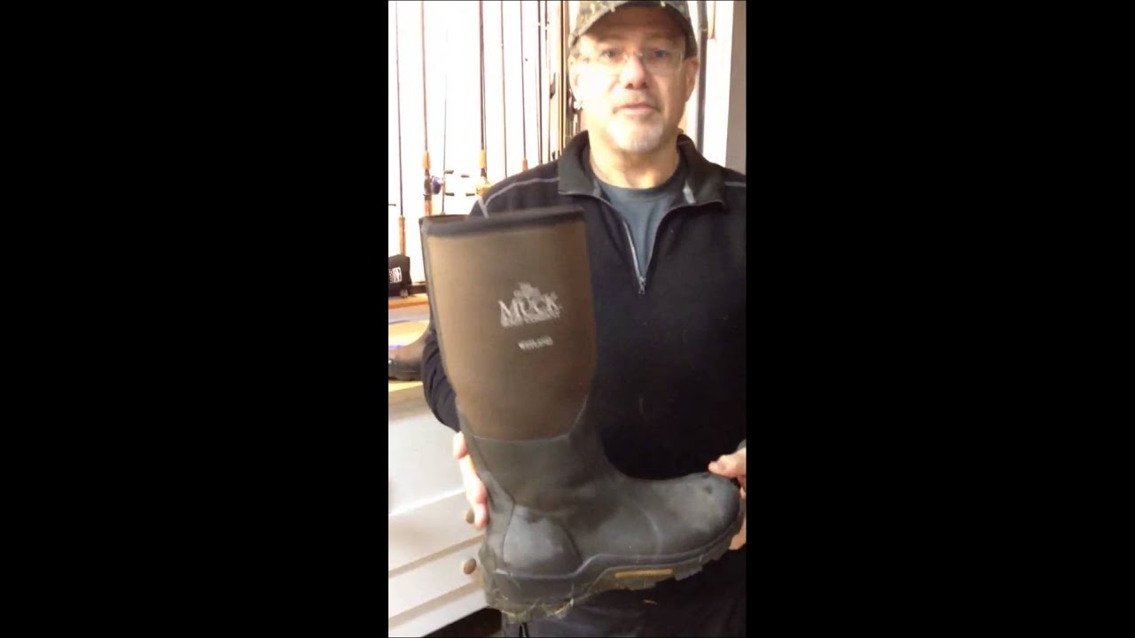 Leaky Muck Boots - YouTube
