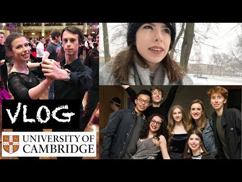 CAMBRIDGE VLOG 10: DO I HAVE TIME FOR A SOCIAL LIFE?