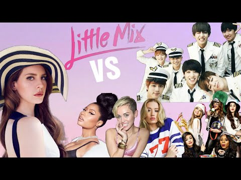 Little Mix VS FAMOUS Artists in Similar Names Song Battle