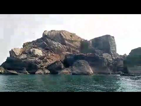 🐟 Fishing In Karachi Charna Island Fishing Gun Video 2020