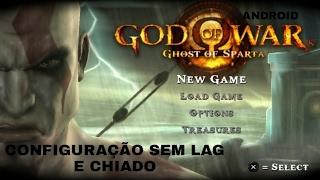 COMO CONFIGURAR GOD OF WAR GHOST OF SPARTA NO ANDROID SEM CHIADO E SEM LAG