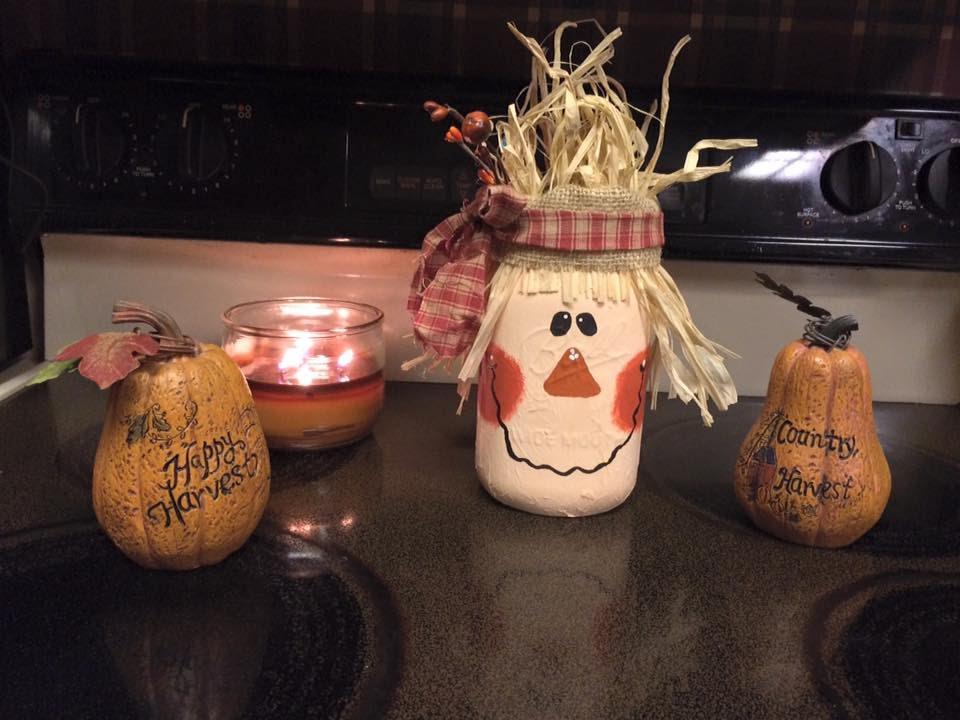 Diy Scarecrow Mason Jars Easy Fall Crafts Logan Lynn Youtube