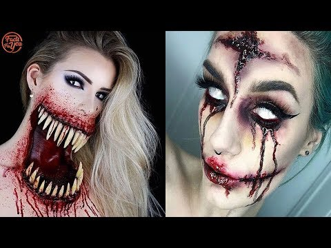Scariest & Creepiest Halloween Makeup Ideas Ever