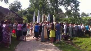 Процесія 2013 на свято Трійці (Івана Купала) або як в нас кажуть Процасія